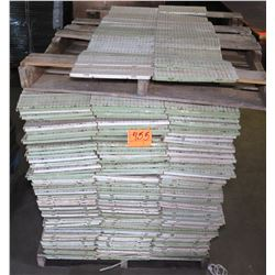 "Pallet 12"" x 12"" Rubber Sub Flooring Sections, Approx. 1000 pcs"
