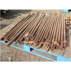 Pallet Multiple Rebar Tent Stakes