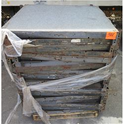 Pallet Multiple Carpeted Flooring Sections