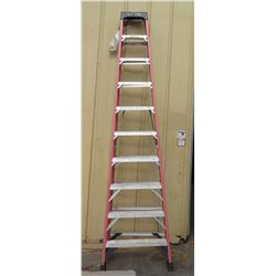 Werner Red Aluminum A-Frame Ladder