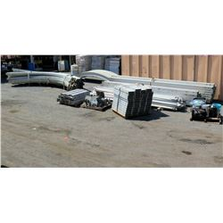 Multiple Tent Frames, Rail Sections, Poles, Stakes, Fittings, etc