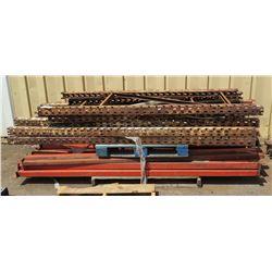 Pallet Rack Parts (unassembled)