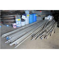 Multiple Tent Poles - Misc Lengths & Corners, Leg Braces, Straps, etc