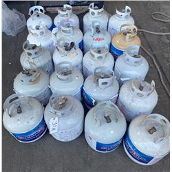 Qty 20 Propane Tanks