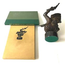 Harry Jackson Lost Wax Book and Bronze