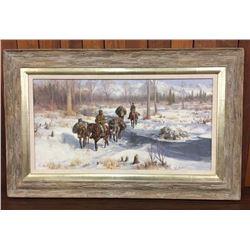 Original Oil Painting by John Scott
