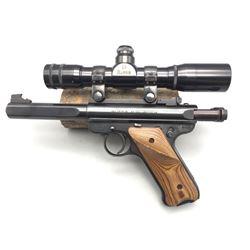 Ruger Mark II .22 LR Target Pistol