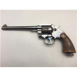 "Colt Officers Model .38 Special with 7.5"" Barrel"