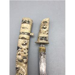 Antique Japanese Ivory Tanto