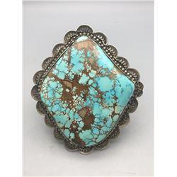Large Stone Turquoise Bracelet - Richard Jim