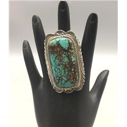 Turquoise and Sterling Silver Ring by Charles Johnson