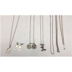 Group of Miscellaneous Necklaces