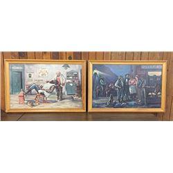 Two Lon Megargee Framed Prints
