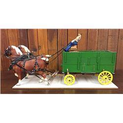 Detailed, Handmade Wagon by John Drost