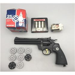 Crosman Air Pellet Gun and Accessories