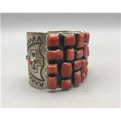 Coral Cluster Bracelet by Don Lucas