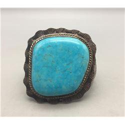 Dazzling Large Stone Turquoise Bracelet