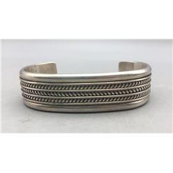 Sterling Silver Bracelet by Tom Hawk