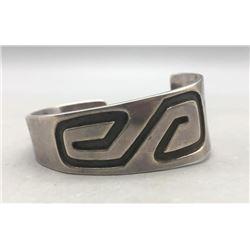 Vintage Sterling Silver Overlay Bracelet