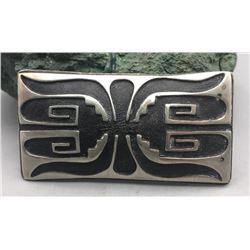 Vintage Hopi Overlay Buckle