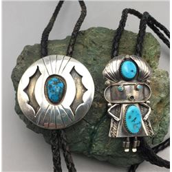 Two Vintage Bolo Ties
