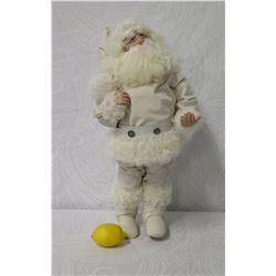 Bethany Lowe 'Woodland White Christmas' Santa (Limited Ed. 8/13)