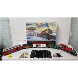 Bachmann Wonderland Flyer Train w/ Locomotive, Gift Cars, Caboose & Track