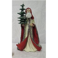 Duncan Royale Collector's Edition Santa w/ White Cloak & Tree Staff