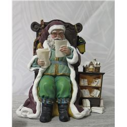 Thomas Kinkade St. Nicholas Collection 'Santa Reads the Mail' #3408A