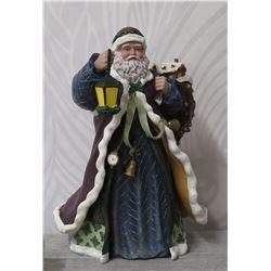 "Thomas Kinkade St. Nicholas Collection ""Santa Checks His List' #4135A"