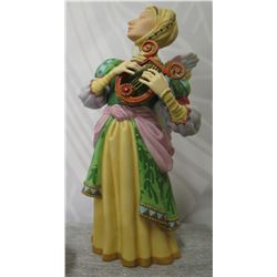 """Greenwich Workshop 'The Gift of Music"""" Signed James C. Christensen 5.5"""" Height"""