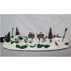 Mr. Christmas 'Winter Wonderland Skating Pond' Illuminated Display