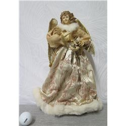 """A.A.F. Bob Gilmore's Cone Angel Figurine w/ Gold Wings (Retail $50) 16"""" Height"""