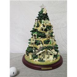 Thomas Kinkade Hawthorne Village 'Irish Blessing Nativity Tree' #A0718