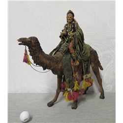 """King Riding Camel Christmas Statue 20"""" Tall (Retail $295)"""