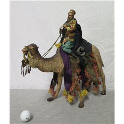 """King Riding Camel Christmas Statue 19"""" Tall (Retail $290)"""