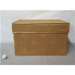 """Ornament Storage Box w/ 3 Trays for Multiple Ornaments & Lid 22"""" x 14"""" Ht"""