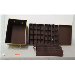 Ornament Storage Box w/ 3 Trays for Multiple Ornaments & Lid 22  x 14  Ht