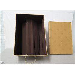 """Ornament Storage Box w/  Lid 22"""" x 14"""" Ht"""
