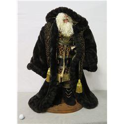 "Glad Design Legacy Series Santa Figurine Signed Brenda Reed 36"" Tall"
