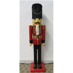 Life Size Wooden Toy Soldier Statue