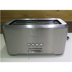 Breville 'A Bit More' 4 Slice Long Slot Toaster Stainless Steel