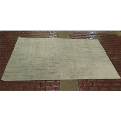 West Elm Handcrafted Distressed Foliage Rug 5'x8'