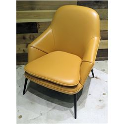 Wendelbo Tan Hug Lounge Chair w/ 4 Legs