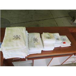 Monogrammed Towels, Hand Towels, Wash Cloths, etc