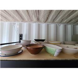 Assortment of Serving Bowls