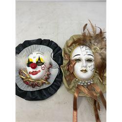 2 Vintage Masks