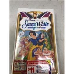 Vintage VHS Snow White Unopened
