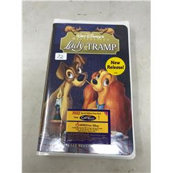 Lady and the Tramp VHS Unopened