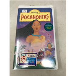 Pocahontas VHS Unopened